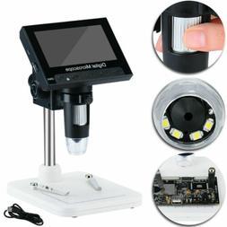 "1000X 4.3"" LCD Screen Digital Electronic Microscope Magnifie"