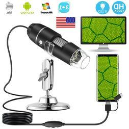 1000X USB Digital Microscope Magnifier Endoscope Camera For