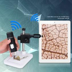 1000X WIFI Digital Microscope Camera Magnifier 8LED for Andr