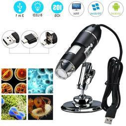 1600X USB Digital Microscope Handheld Zoom Biological Endosc