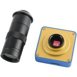 38 Million Pixels HDMI USB Industrial Video Microscope Camer