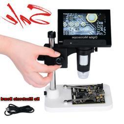 "4.3"" 1000X HD LCD Monitor Electronic Digital Video Microscop"