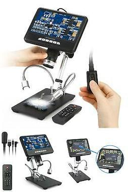 Andonstar AD207 7 inch 3D Digital Microscope Soldering Tool