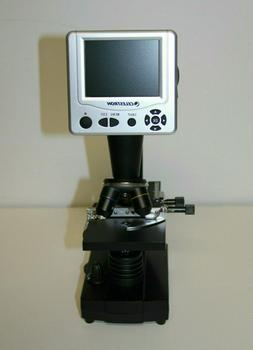 CELESTRON Digital Microscope  - 40x 10x 4x Lenses - Built-in