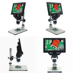 G1200 Digital Microscope 12Mp 7 Inch Large Color Screen Larg