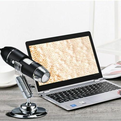 0x-1000x Digital Microscope Handheld Magnification Endoscope