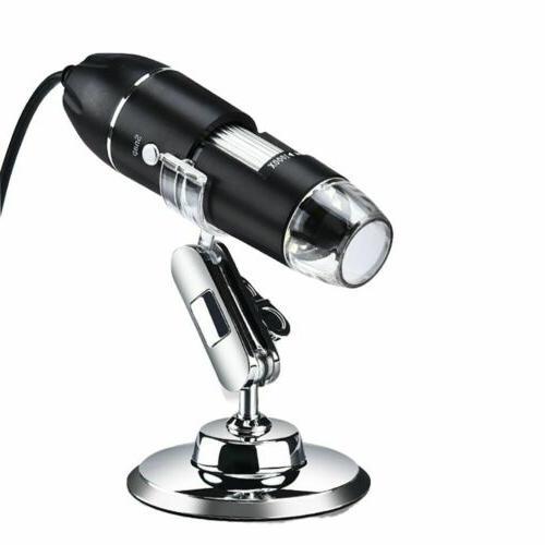 0x-1000x LED Digital Microscope Magnification Endoscope