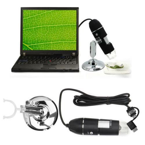 1000X 8LED Digital Camera Handheld Magnification Endoscope