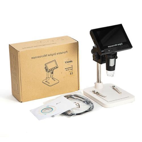"SWIFT 1000X Digital Microscope Camera W/ 4.3"" LCD Screen  US"