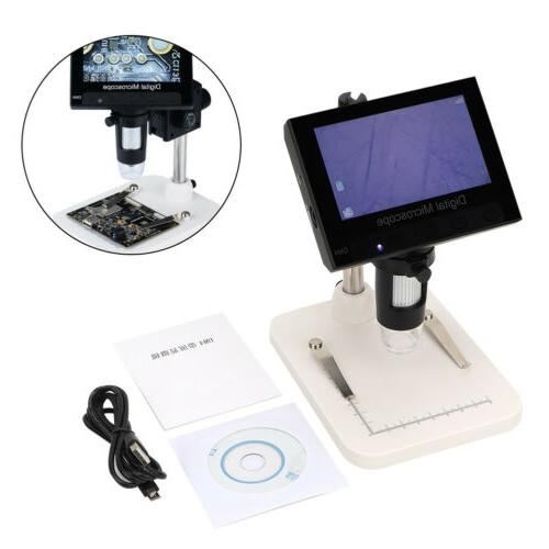 1000X Video Electronic Microscope 8LED Screen