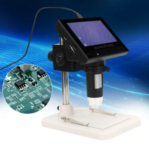 1000X Electronic Microscope 8LED w/ 4.3'' Screen