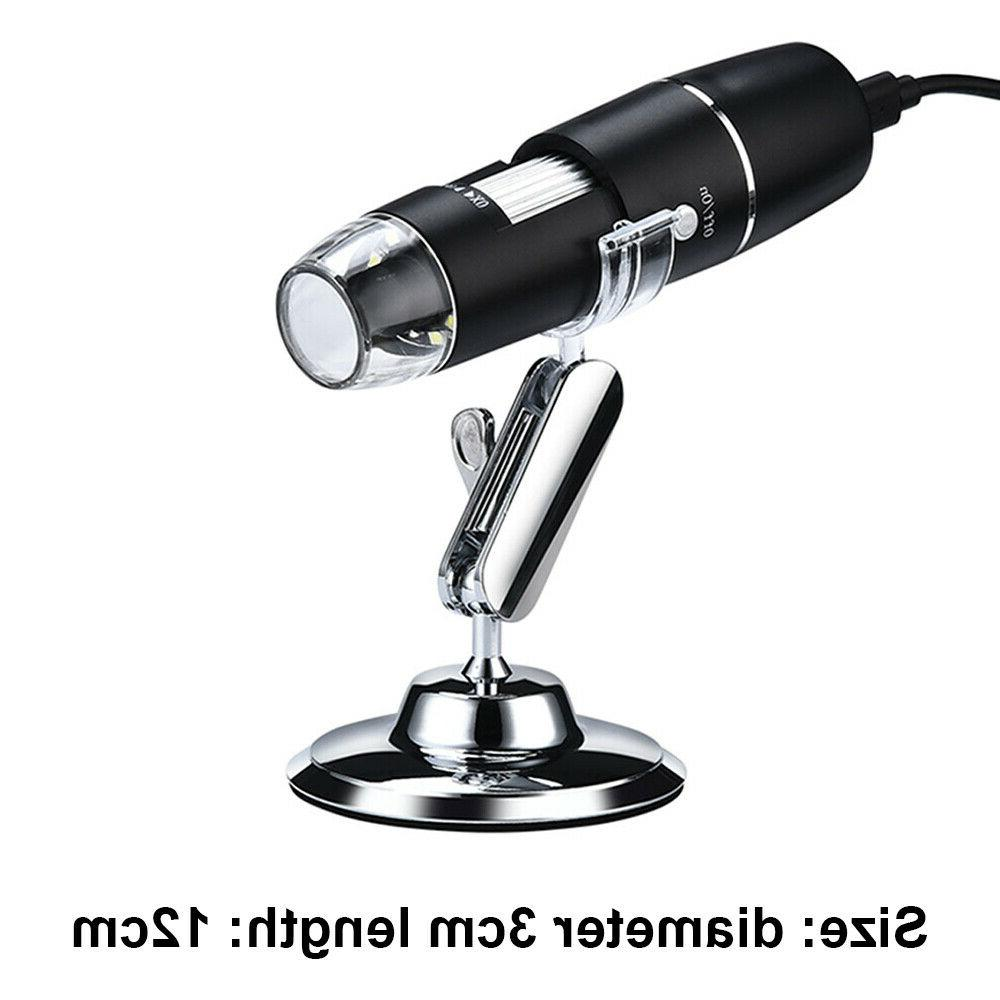 1600X Digital Microscope 8 LED for Accessories