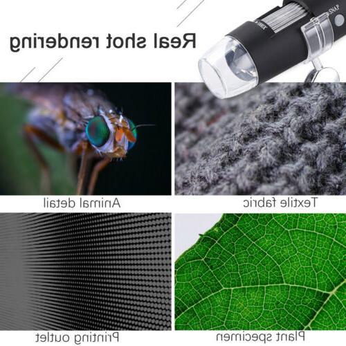 10X-1000X LED Microscope Camera Handheld Magnification Endoscope
