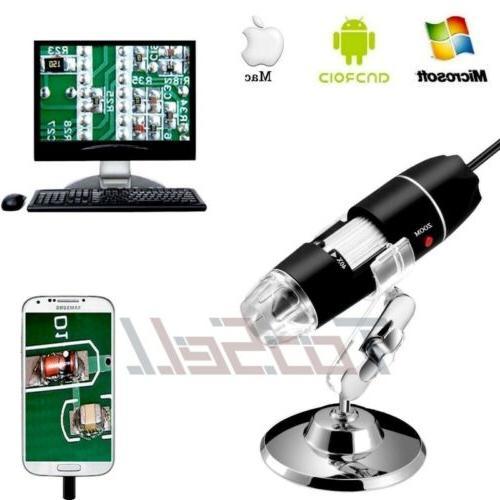1600x Camera 8 LED Endoscope Magnification
