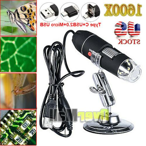 1600x usb digital microscope for electronic accessories