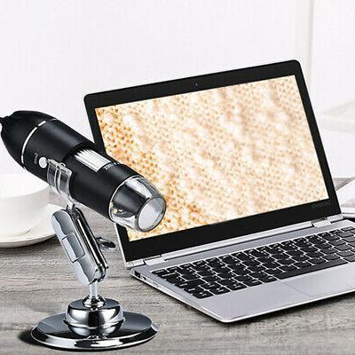 8 LED USB Digital Magnifier HD Camera for PC