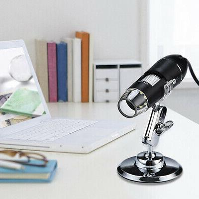 8 LED Digital Electronic Magnifier Camera PC