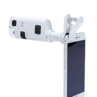 80 120x digital clip type cellphone microscope