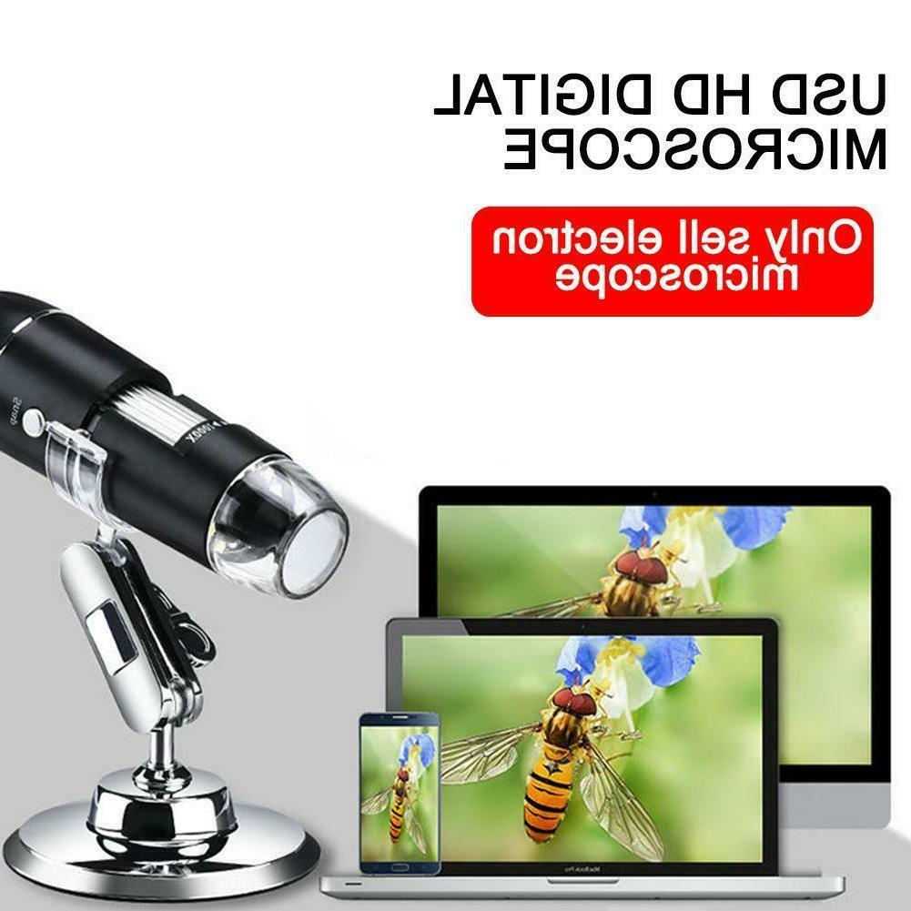 8led usb digital microscope magnifier for pc