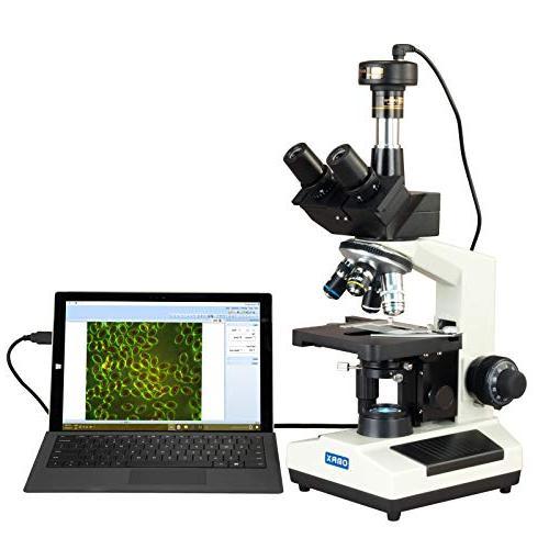 compound advance darkfield trinocular microscope