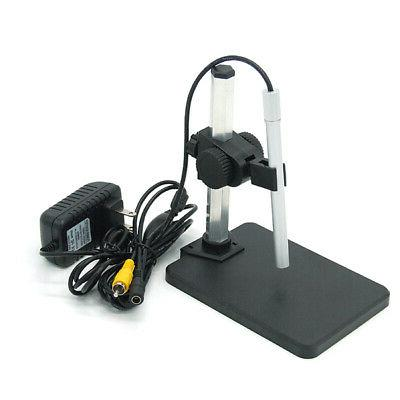 Digital Magnification 1-600X Magnifier Magnifying 6 Lights