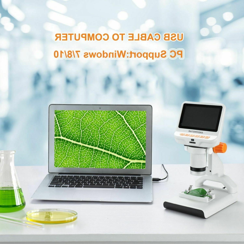 Digital Microscope Screen Science PC