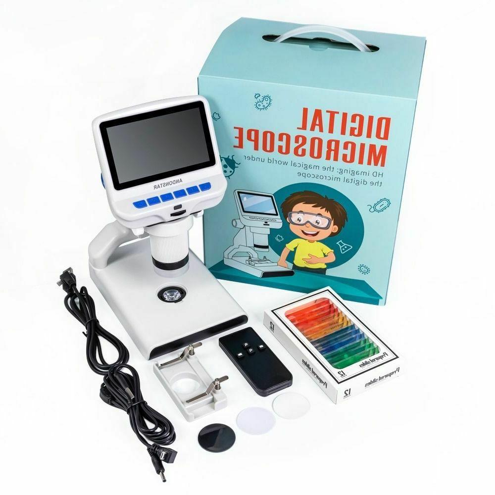 Digital Microscope Plastic Screen Kids Science Gifts