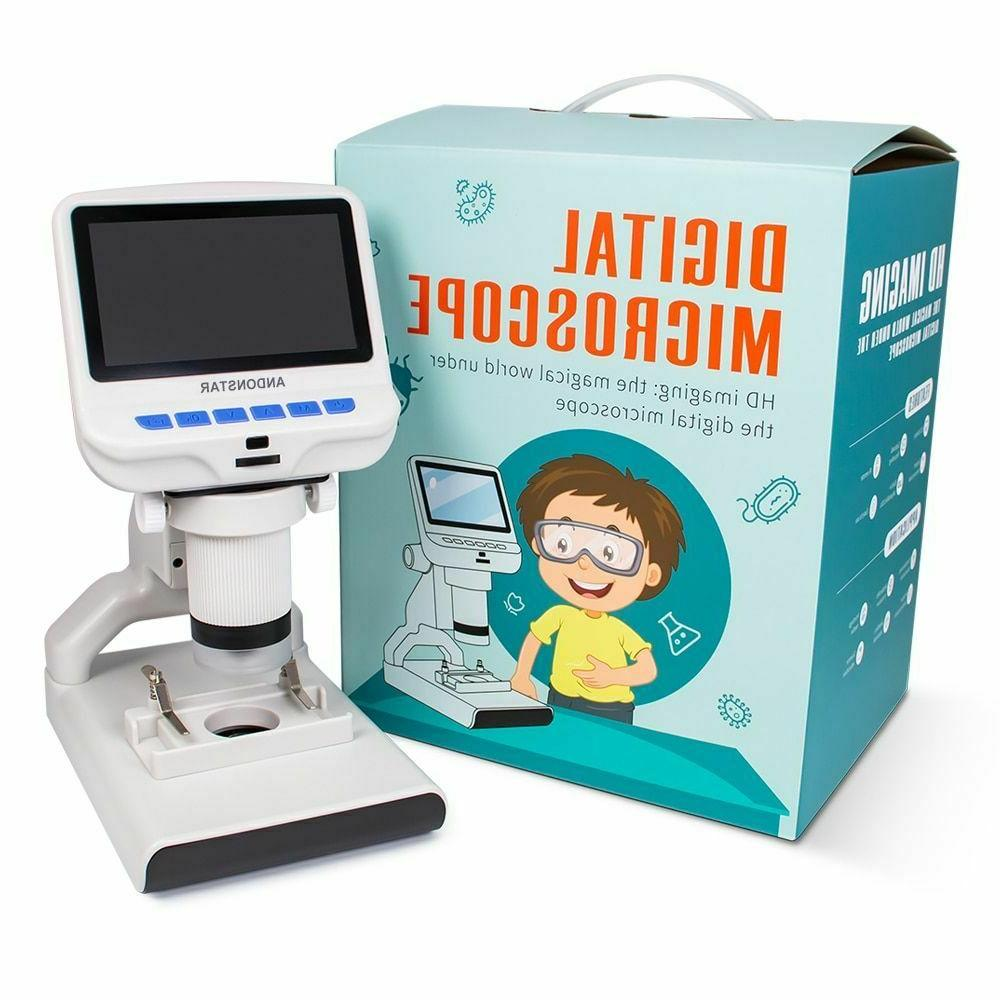 Digital Microscope  With Plastic Screen For Kids Craft Scien