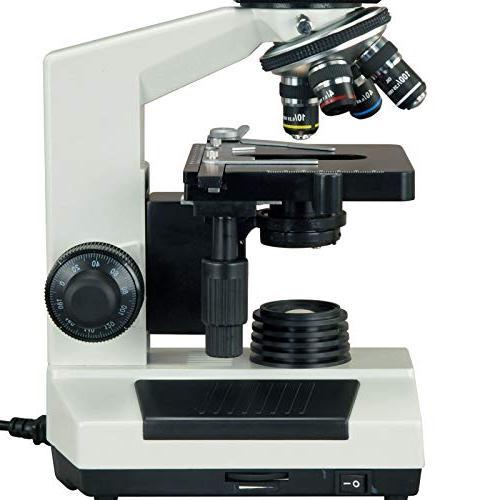 OMAX Binocular Microscope USB