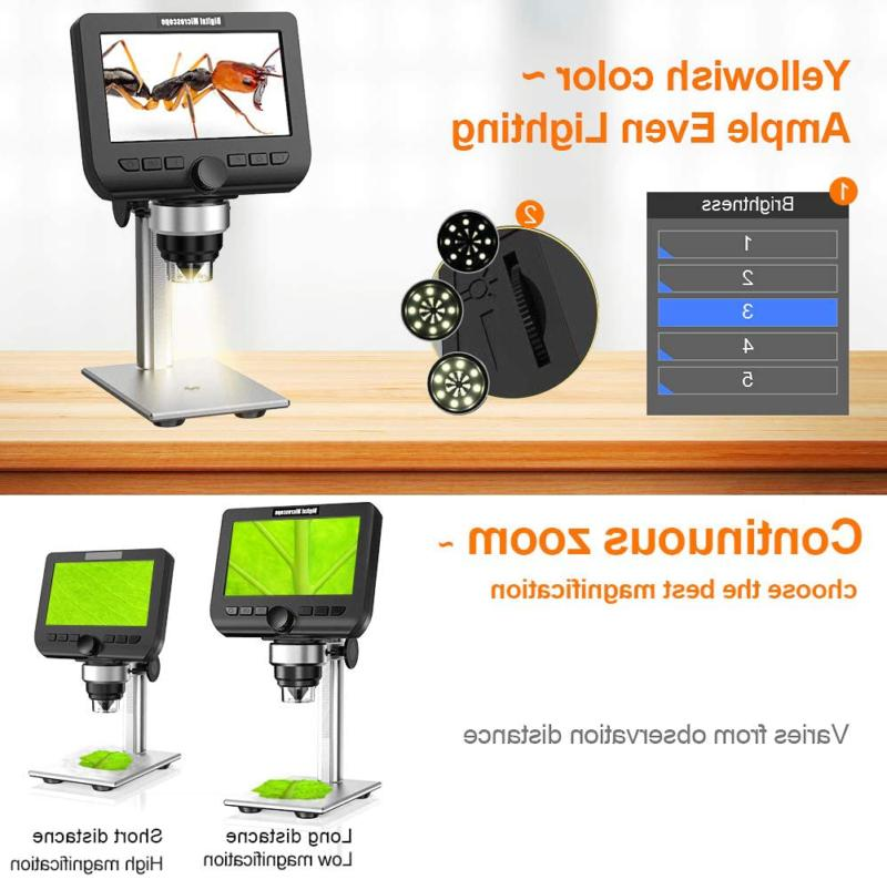 LCD Megapixels 1000X Magnification