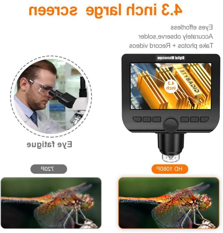 LCD YINAMA 4.3 Megapixels 1000X Magnification