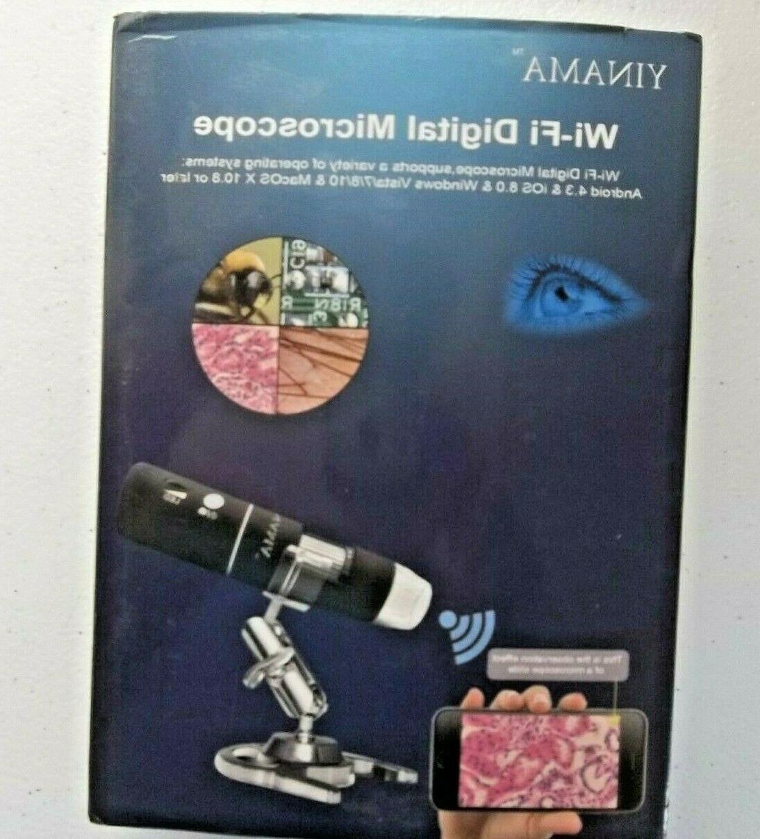 wi fi digital microscope hd resolution 1920x1080p