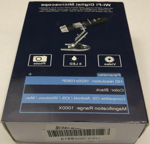 Yinama WI-FI Microscope HD Resolution