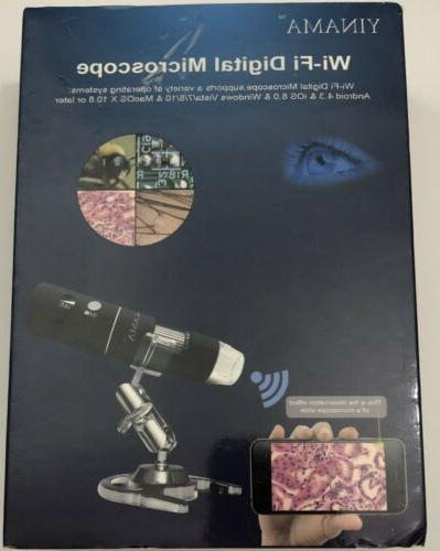 wi fi digital microscope hd resolution