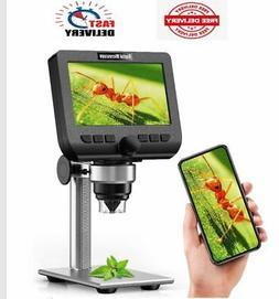 "LCD Digital Microscope, 4.3 ""  Zoom Wireless ,Camera ,USB St"