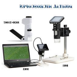 SWIFT MINI Pocket Microscope Digital USB 500X-1000X Cordless