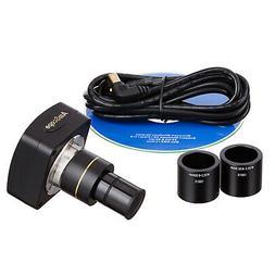 AmScope 10 MP Still & Live Image Microscope Digital Camera +