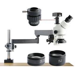 KOPPACE Trinocular Stereo Zoom Microscope 5MP Digital Camera