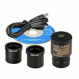 OMAX 5MP USB Digital Microscope Camera Compatible with Windo
