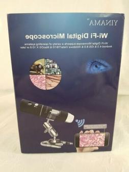 YINAMA WI-FI DIGITAL MICROSCOPE HD RESOLUTION 1920X1080P